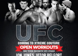 Week of events schedule (open to the public) for UFC 152 Toronto