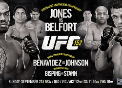 UFC 152 weigh in info for 'Jones vs Belfort on Sept. 21 in Toronto