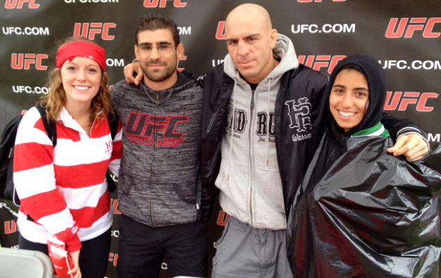 Quick Pics: UFC Canada along with Sean Pierson and Antonio Carvalho guests at York football homecoming