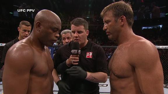 Watch Anderson Silva make quick work of Stephan Bonnar at UFC 153