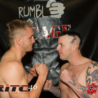 Rumble in The Cage 46 weigh-in photos