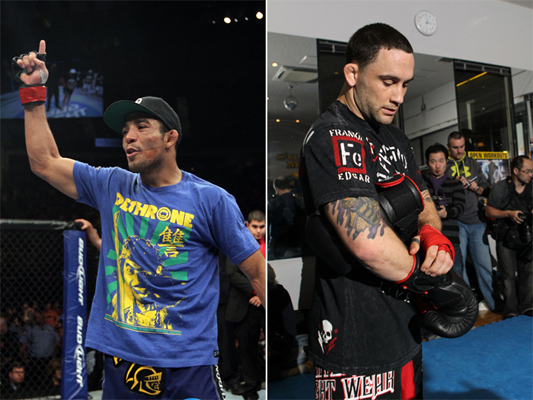 Jose Aldo vs. Frankie Edgar confirmed for UFC 156 Super Bowl weekend in Las Vegas