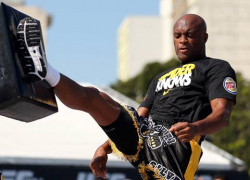 UFC 153: Open workout quotes and pics with Anderson Silva and Stephan Bonnar