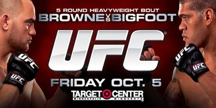 UFC On FX: BROWNE vs BIGFOOT flash quotes