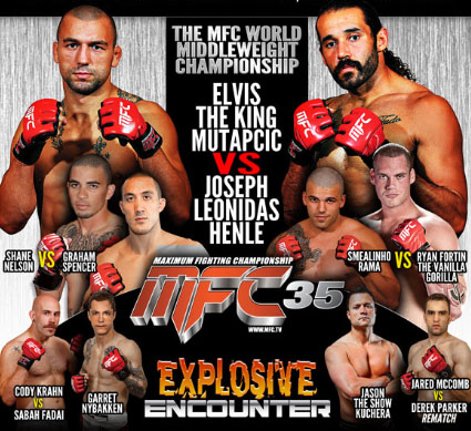 """MFC 35 """"Explosive Encounter"""" results and recap"""