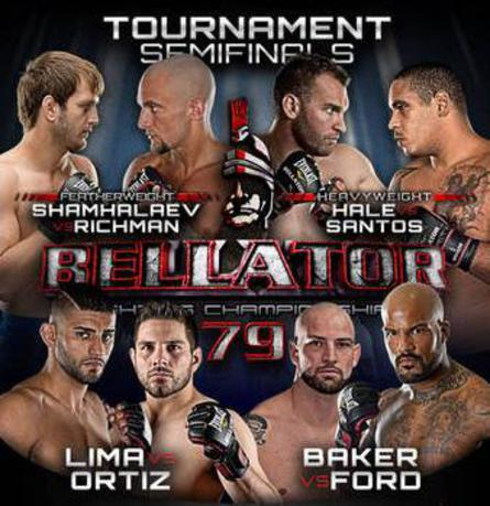 "Bellator 79 fight results and live video stream for ""Hale vs. Santos"" in Rama, Ontario"