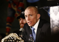 """Post-fight press conference video stream replay for """"St-Pierre vs. Condit"""""""