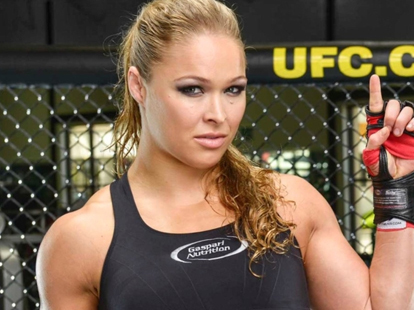 Quick Pic: Ronda Rousey agrees with Miesha tate on GSP's comments regarding womens MMA