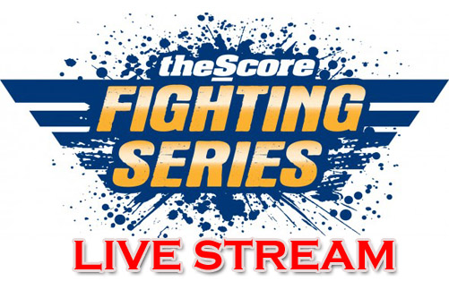 Live results and video stream for Score Fighting Series (SFS) 7 in Hamilton, Ontario