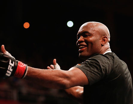 Anderson Silva expected cageside for GSP fight in Montreal
