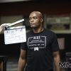 "(Photos) Anderson Silva and Lyoto Machida on the set of the movie ""Tapped"" filmed in Ontario, Canada"