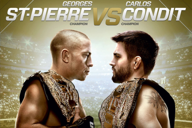 "Official updated UFC 154 ""St-Pierre vs. Condit"" fight card and details"