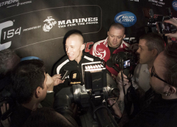 Hear from the UFC stars just 48 hours before the highly anticipated UFC 154 event