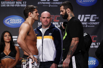 Rematch set for UFC 158 as Patrick Cote battles Alessio Sakara in Montreal