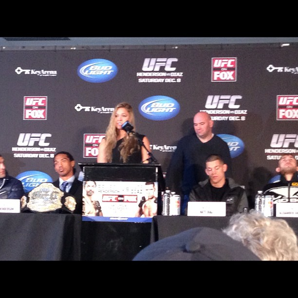 Women's first UFC bout as Rousey vs. Carmouche official for UFC 157 main event