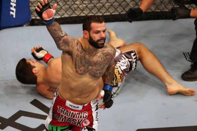 Alessio Sakara pulls out of UFC 158 rematch with Patrick Cote