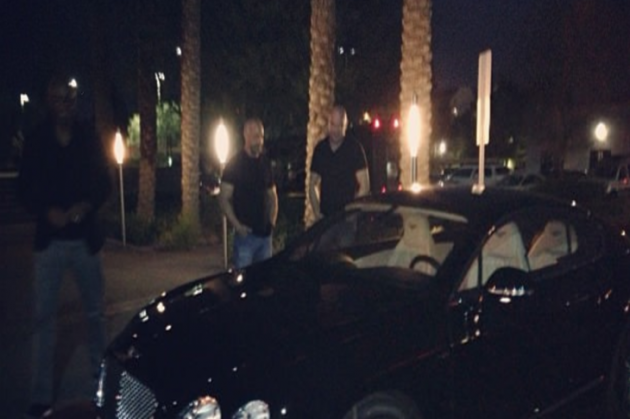 Quick Pic:  UFC buys Anderson Silva a Bentley