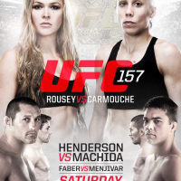 Quick Pic: UFC 157 poster for Rousey vs. Carmouche on Feb. 23