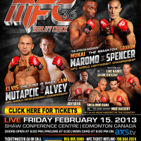 Tickets on sale now for MFC 36 on February 15 in Edmonton