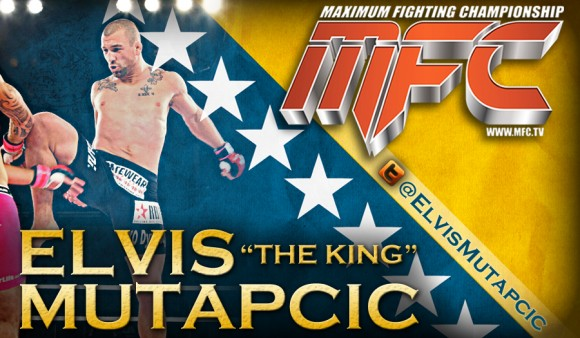"Elvis ""The King"" Mutapcic is the world's most dangerous middleweight according to MFC"