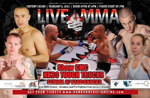 Hard Knocks MMA FC 30 weigh in results
