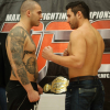 """MFC 36 """"Reality Check"""" weigh in pics"""