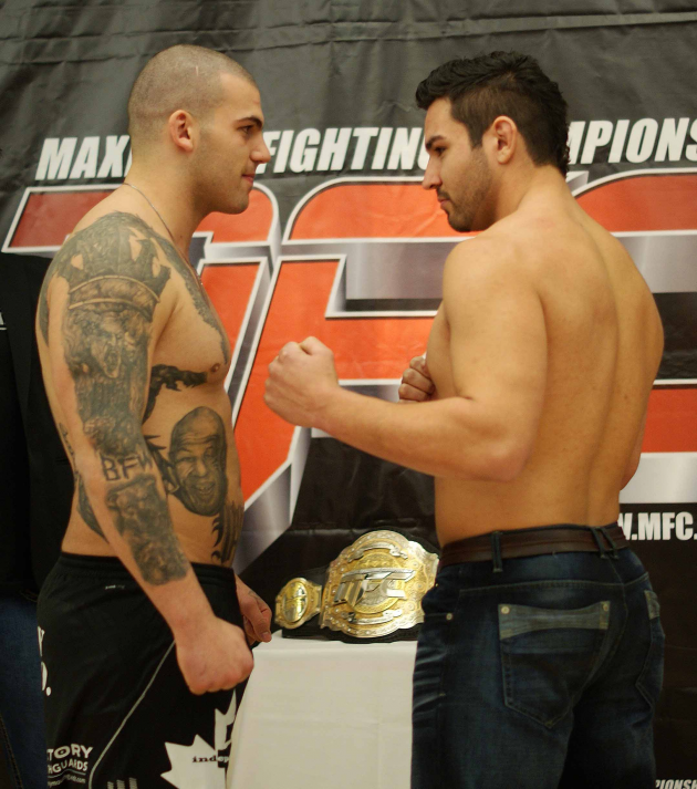 "MFC 36 ""Reality Check"" weigh in pics"