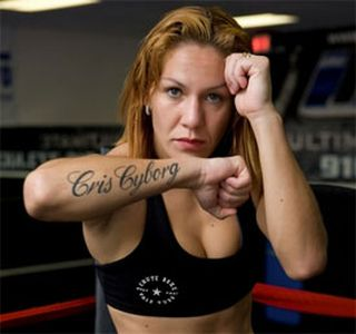 Cris Cyborg Signs With Invicta Fighting Championships; Will Face Ediane Gomes On April 5