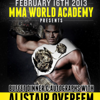 Win a pair of tickets to meet UFC heavyweight Alistair Overeem in Toronto at MMA World Academy on Feb. 16