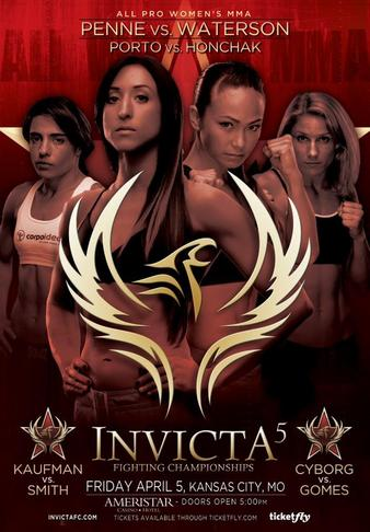 Invicta FC 5 Women's MMA World Championship Doubleheader Event To Stream Live This Friday