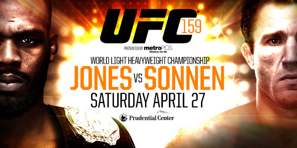 How and where to watch UFC 159 'Jones vs. Sonnen' tonight