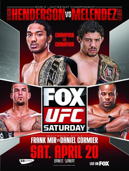 How and where to watch UFC on FOX 7 'Henderson vs Melendez'