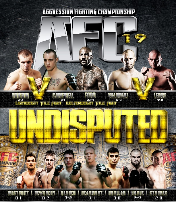 Tim Hague returns to face Kalib Starnes at AFC 19 July 5th in Edmonton, Alberta