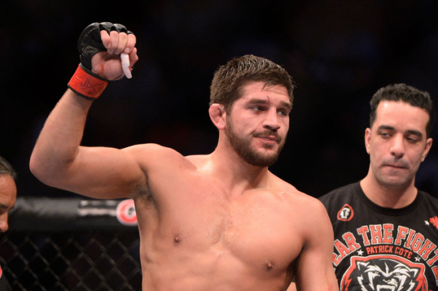 UFC middleweight Patrick Cote inks new four-fight deal with UFC