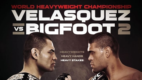 "UFC 160 ""Velasquez vs. Bigfoot 2"" results from Las Vegas"