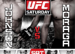 UFC on FOX 8 results: Mighty Mouse submits Moraga to retain title