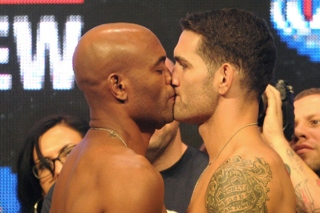 Chris Weidman vs. Anderson Silva 2 official for UFC 168 on Dec. 28