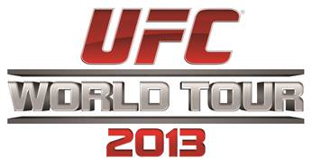 UFC Announces 2013 World Tour