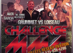Challenge MMA 2 results:  Loiseau, Garcia and Aubin-Mercier victorious in Montreal
