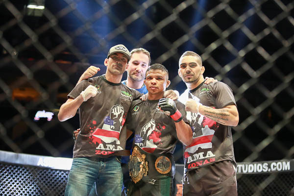 Canada's Bibiano Fernandes to meet Soo Chul Kim to unify ONE FC bantamweight titles on Oct. 18