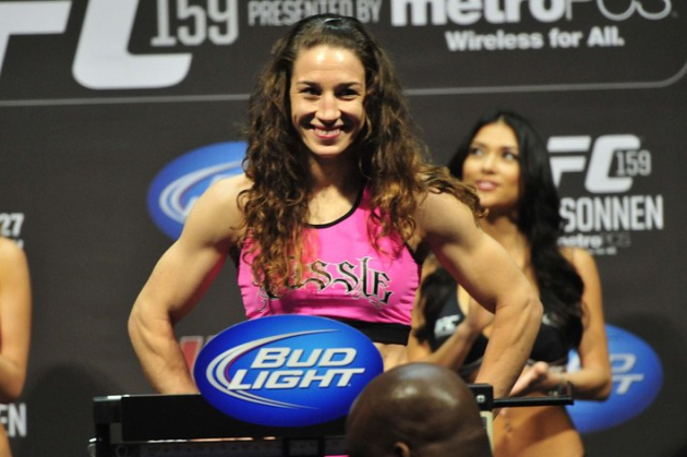 Sarah Kaufman left without opponent as Sara McMann drops out of UFC Fight Night 27