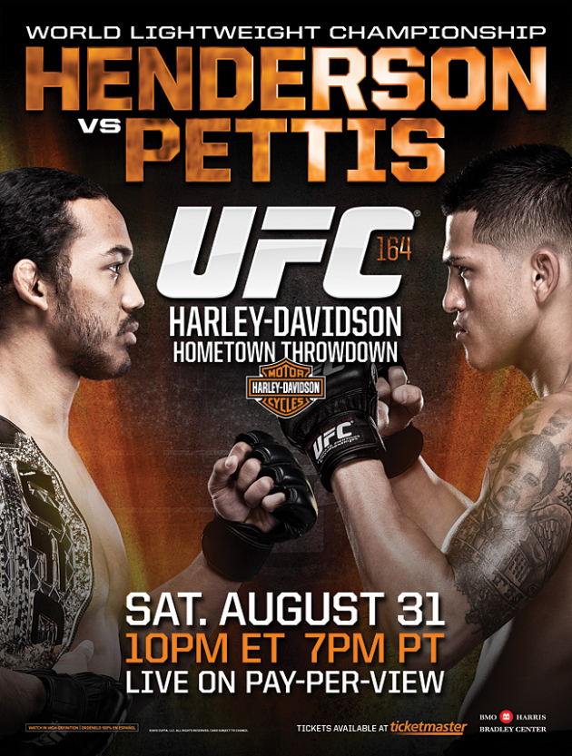 UFC 164 'Henderson vs Pettis' Main Card Breakdown