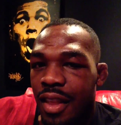 Pic: See Jon Jones busted up face three days after UFC 165