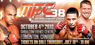 Maximum Fighting Championship adds 3 bouts to MFC 38 on Oct. 4 in Edmonton