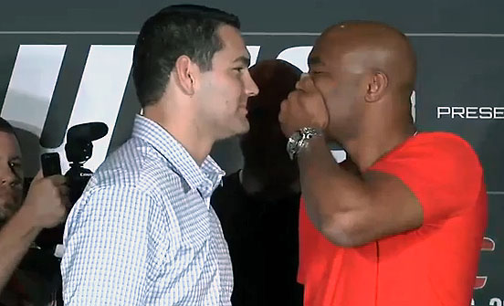 Video: Watch the UFC 168 press conference replay with Anderson Silva and Chris Weidman