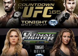 TUF 18 Episode 3 and The Countdown to UFC 165 begins tonight