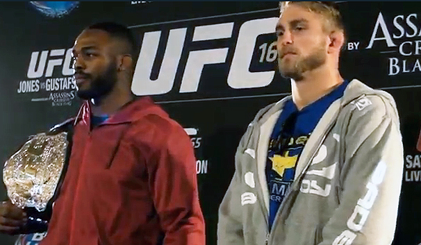 UFC 165 pre-fight coverage from Media Day in Toronto (Staredown video inside)