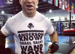 Quick Pic: Check out Wanderlei Silva's new shirt for Chael Sonnen