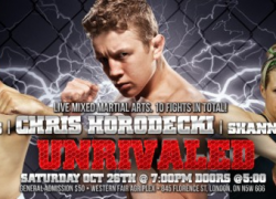 Provincial Fighting Championship: Gross vs. Karkula and Jordan vs. Watkins confirmed for Oct. 26 in London, Ontario