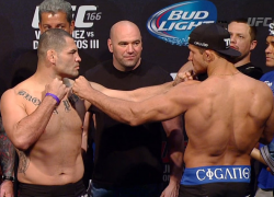 UFC 166 'Velasquez vs. Dos Santos 3' Official Weigh-In Video Replay